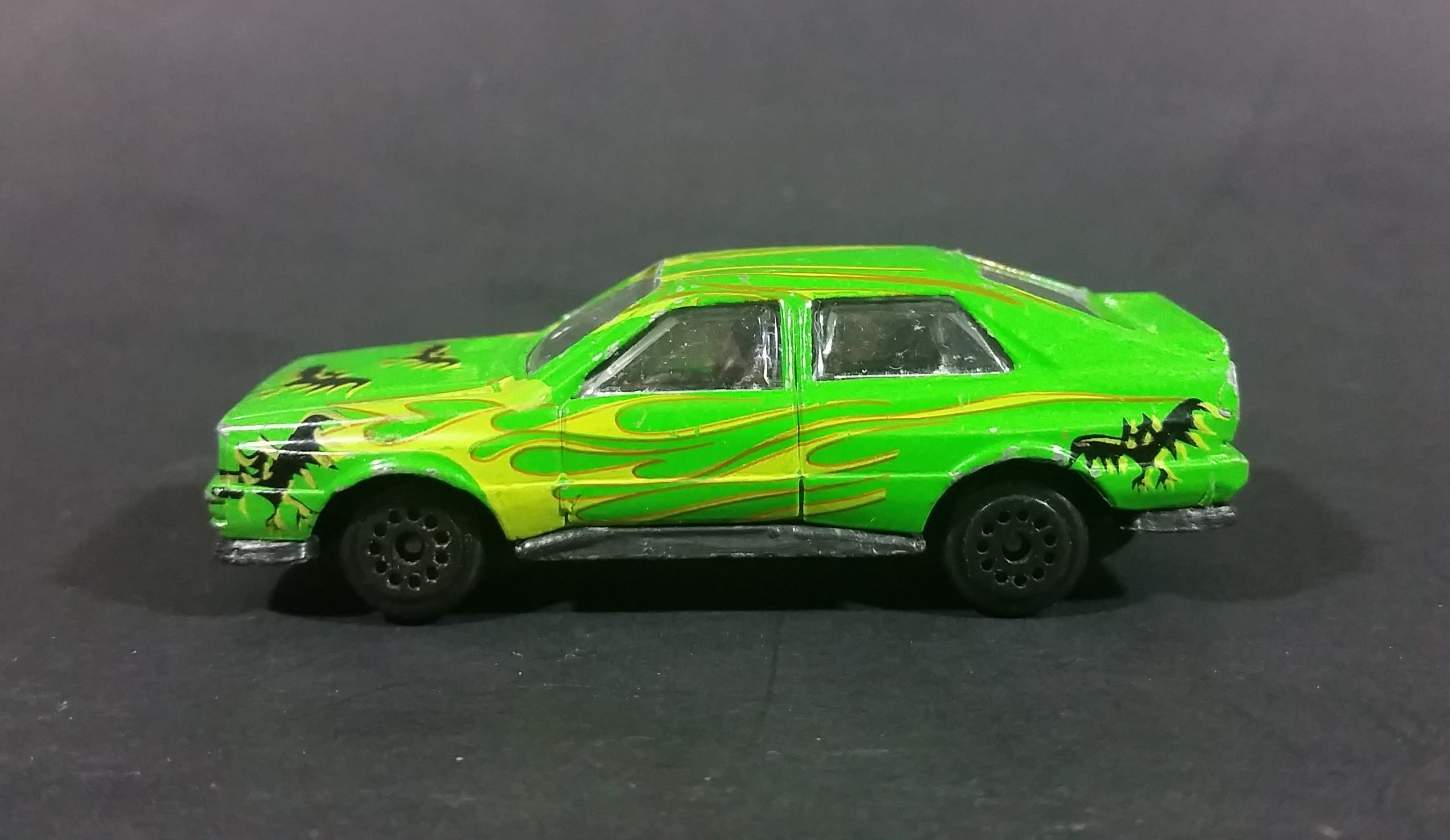 1980s Zee Toys Dyna Wheels Audi Quattro Green Bat Car No. D87 Die ...