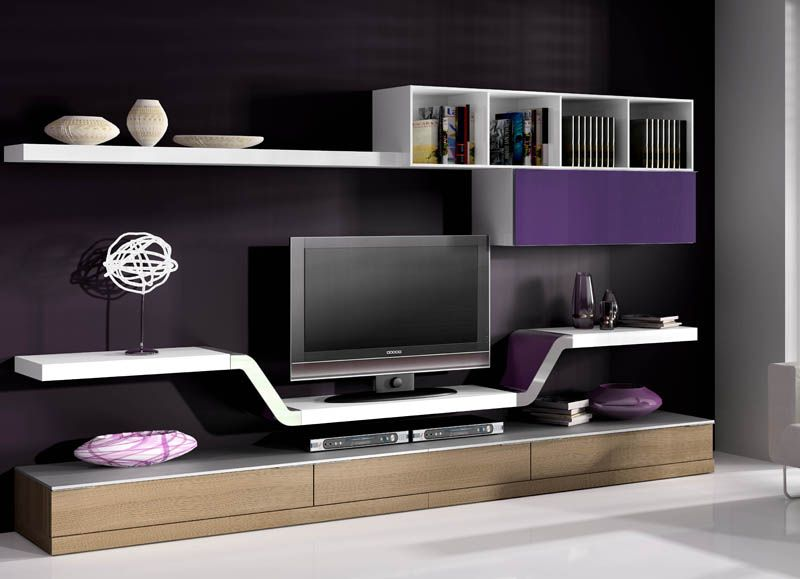 Pin de Paquita Olortegui en tv modernos Pinterest Tv - muebles para tv