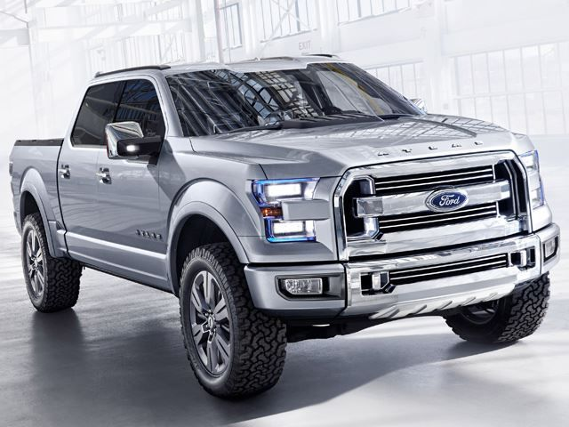Ford Is Already Gearing Up For Its Next Generation F 150 Pickup With Atlas Concept A Technological Display Of Fuel Efficiency And Utility
