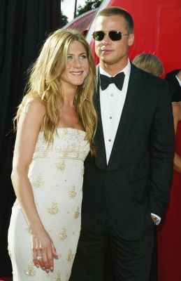 Hollywood S Most Famous Former Couples Jennifer Aniston Jennifer Aniston Pictures Brad Pitt And Jennifer