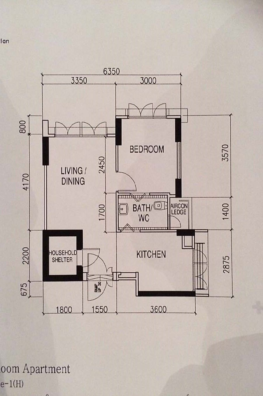 Floor Plan Kitchen Toilet Door To Seal Up Erect New Wall To Make Kitchen Door Smaller Knock Down Wall At Bedroom And C Knock Down Wall How To Plan Tv Wall