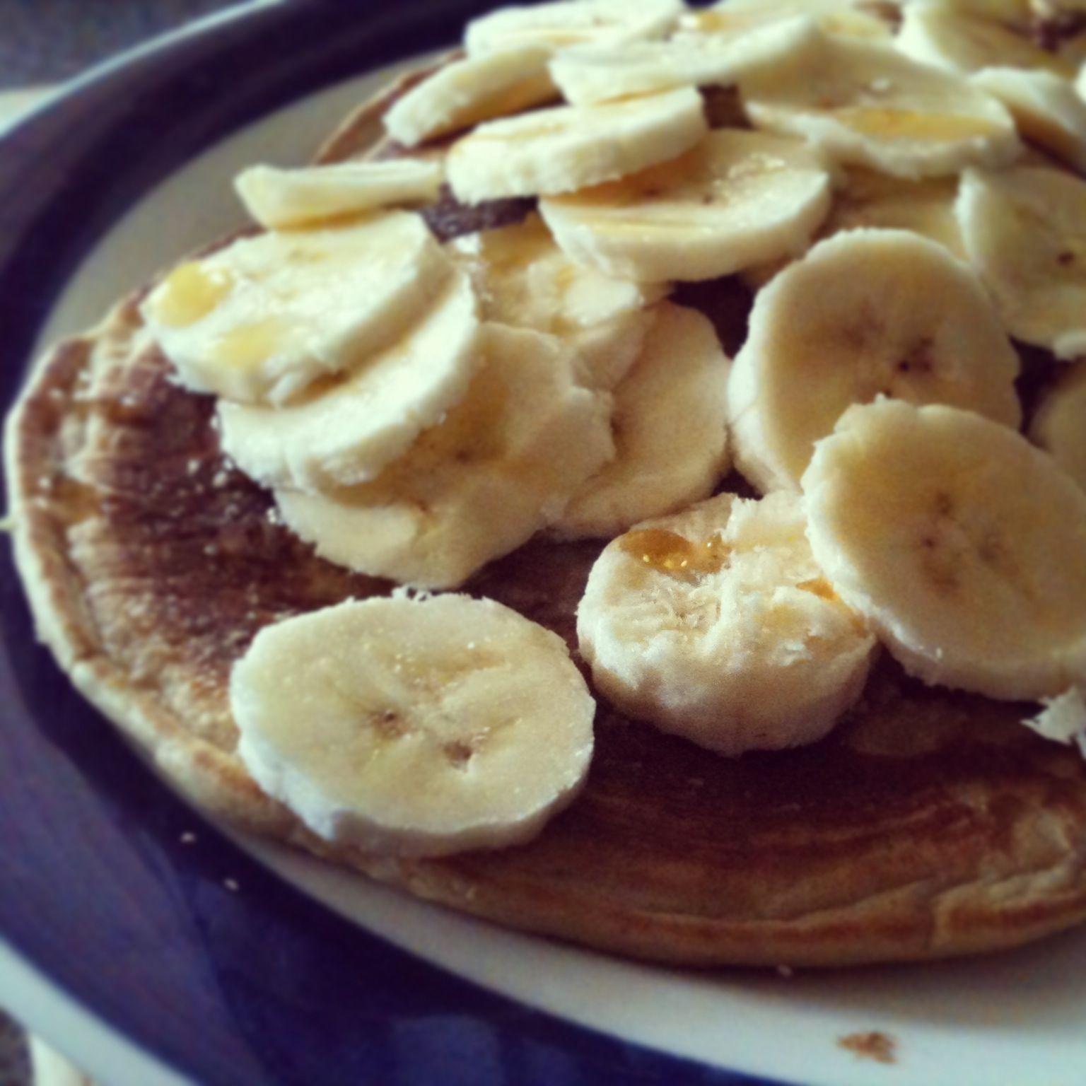 The best #glutenfree #vegan pancakes I've ever made! Recipe on facebook & Instagram - A Healthy Food Affair :)