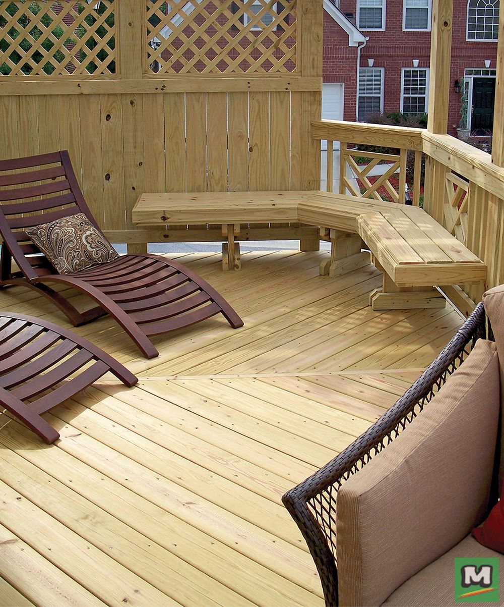 Build A Beautiful Deck With Ac2 Pressure Treated Lumber This Lumber Has Been Pressure Treated For Outdoor Applications Building A Deck Diy Deck Outdoor Space