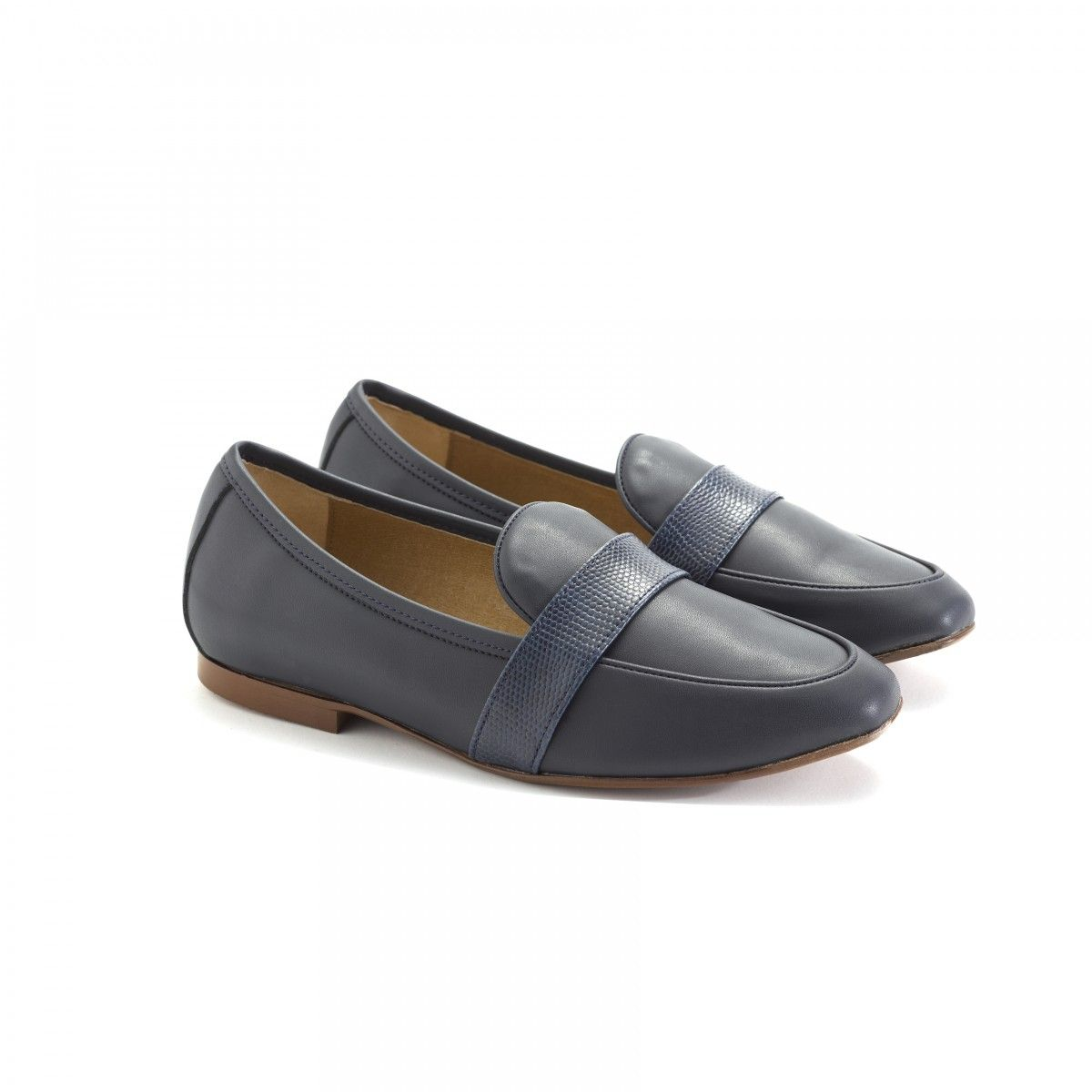 ff0dd8a94e47 Cruelty free black loafers shoes - ByBlanch ethical shoe brand online