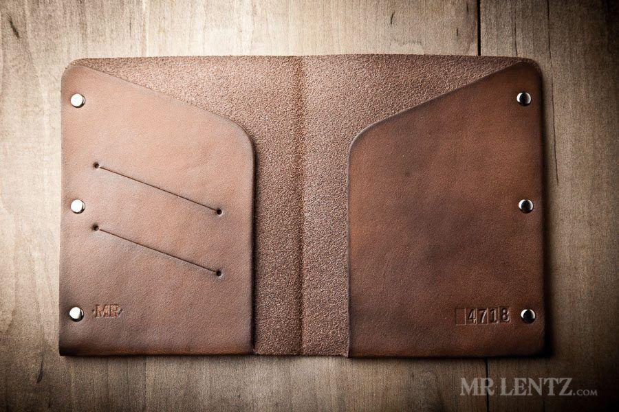Leather Passport Case - Elephant Beads V by VIDA VIDA sbqsa