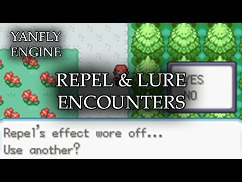 Repel & Lure Encounters 2016 11 19 In RPG Maker MV, you can either