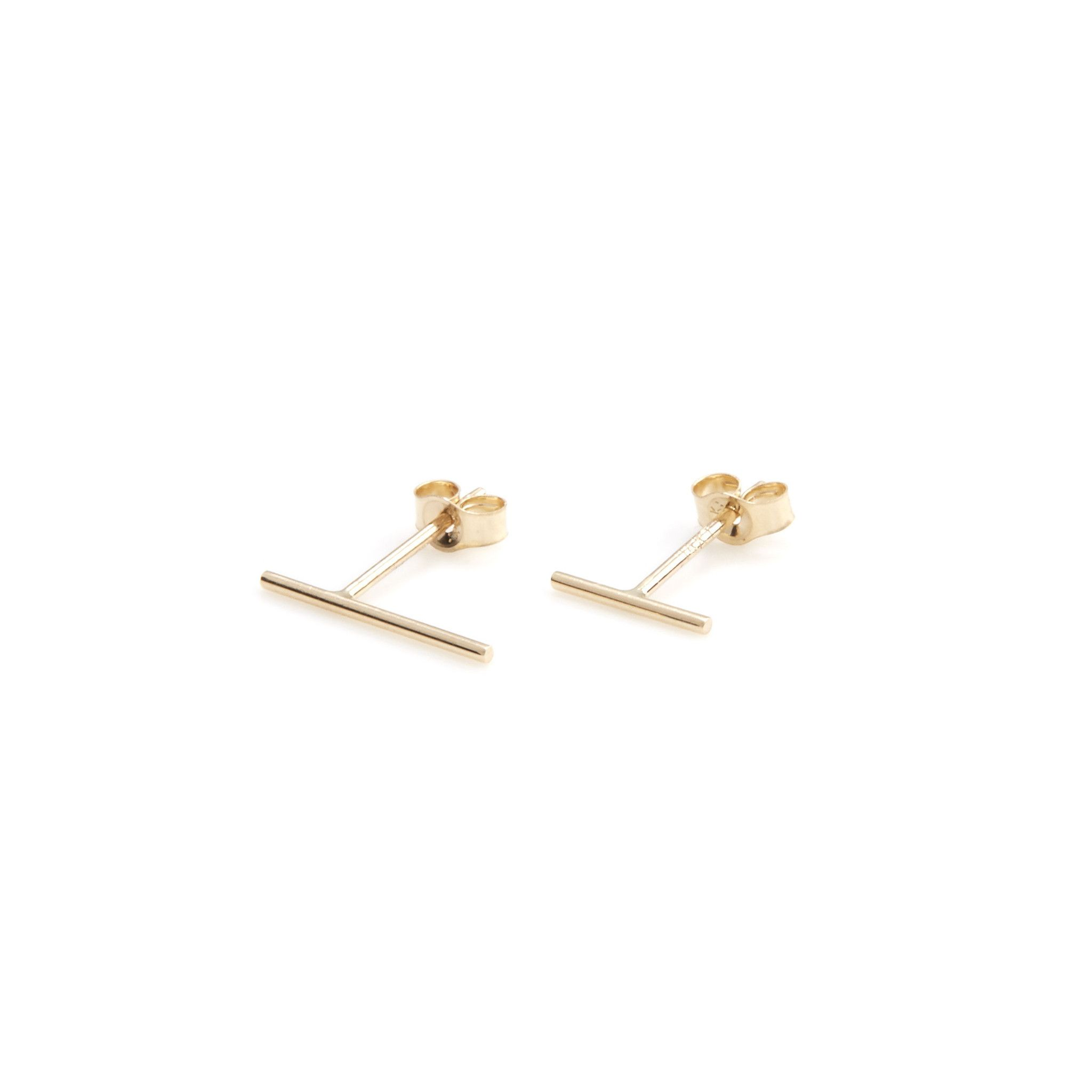 lonny gold gallery product lyst in normal set mismatched stud gorjana jewelry metallic