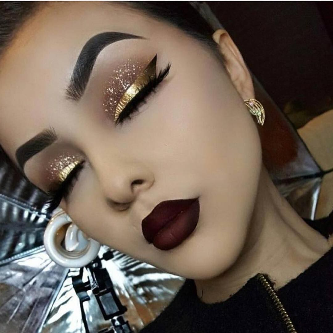 Woow! it is an incredible makeup! Woow! Es un maquillaje increíble! #eyemakeupforblondes