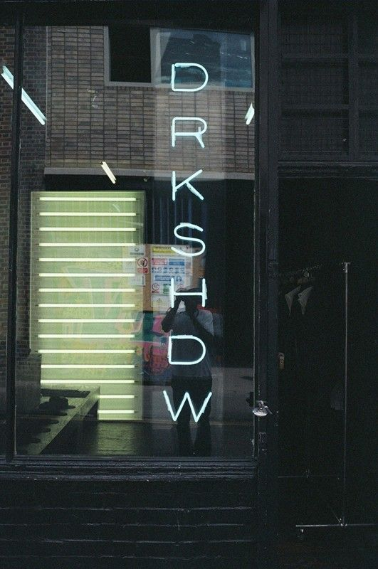Inside the Rick Owens DRKSHDW store, Redchurch Street