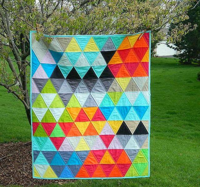 triangles by s.o.t.a.k handmade, via Flickr