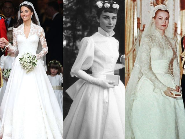 Photo of The most iconic wedding dresses ever