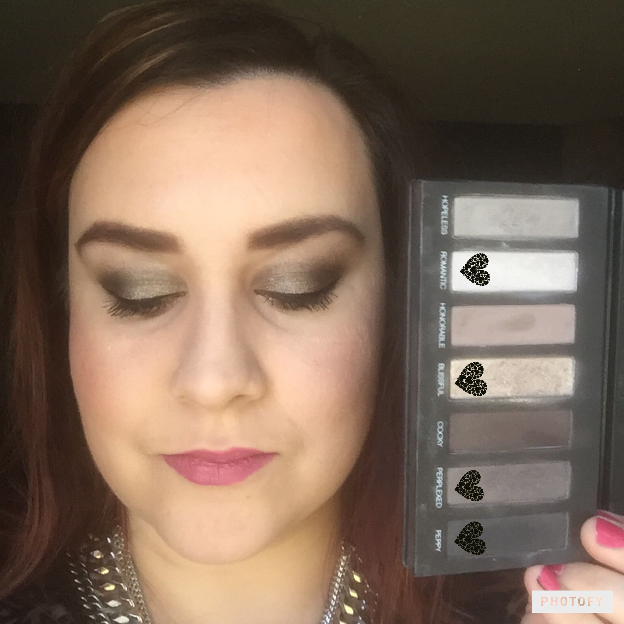 Younique Moodstruck Addictions Palette #2  Lips Splash Liquid matte lipstick in sentimental!