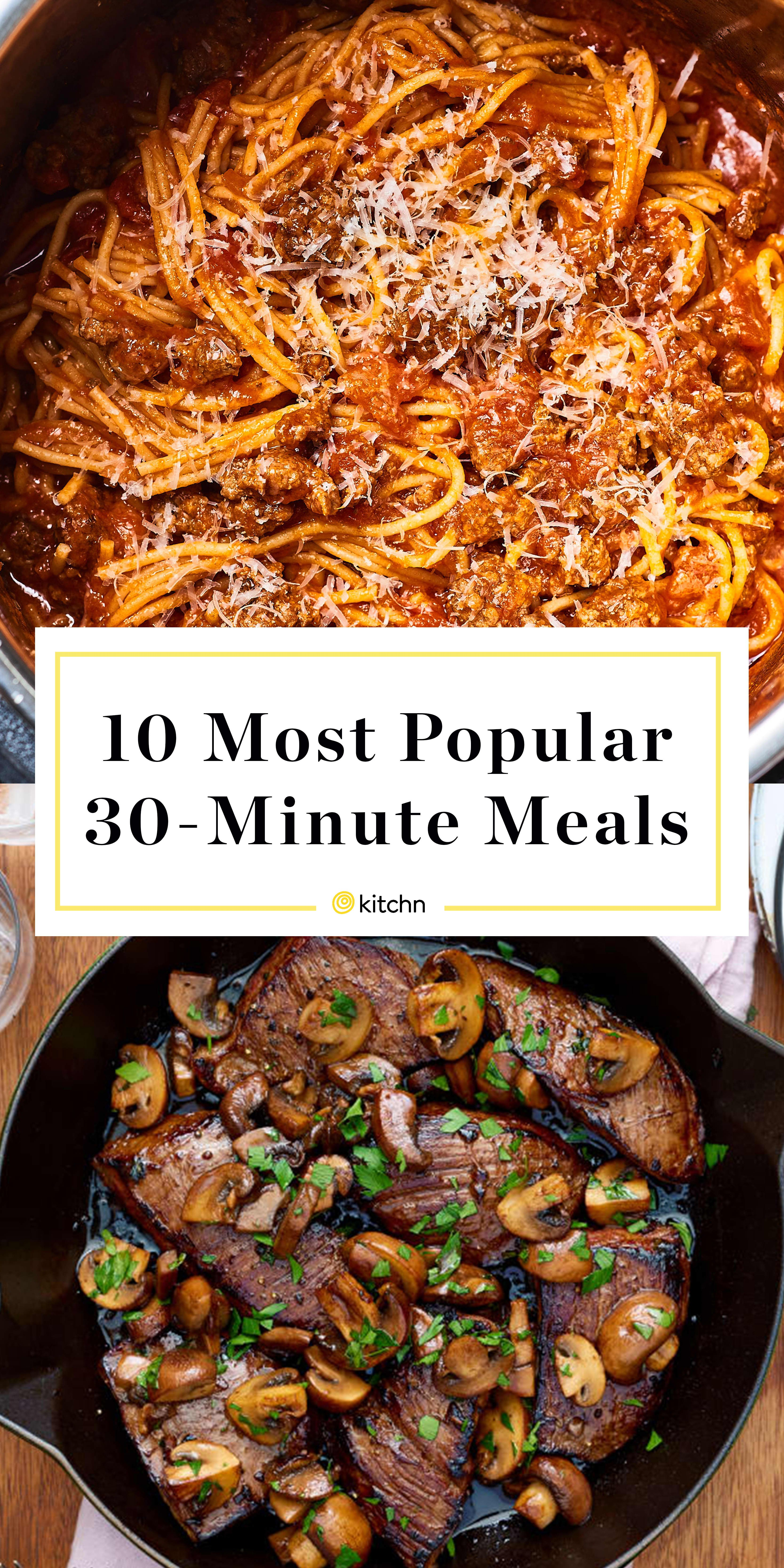 Our Most Popular 30-Minute Meals of the Year images