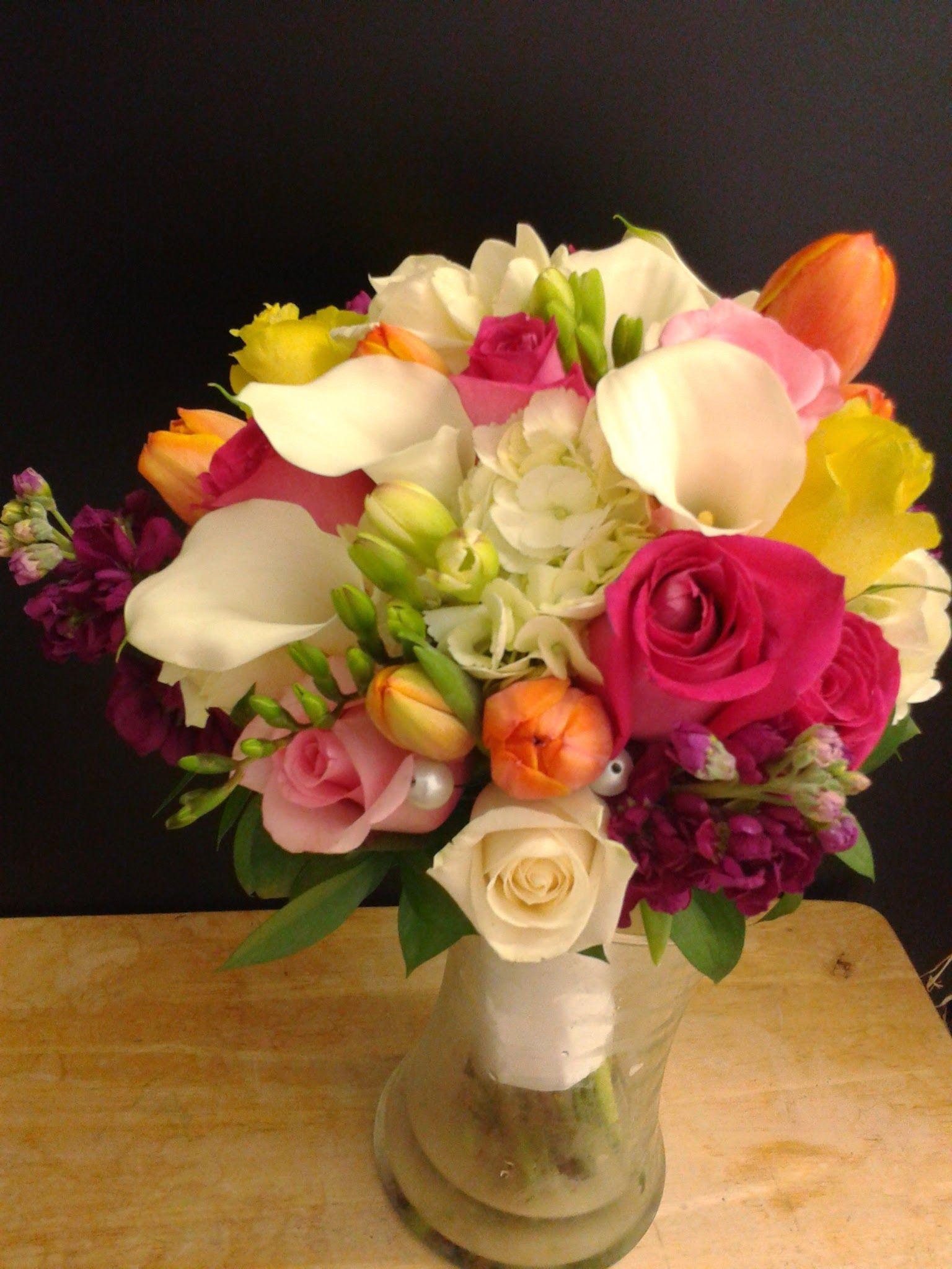 Flower mikan wedding bouquet sweet pink calla pinterest lovely unique florist in san diego flower studio mikan wedding bouquets floristssan izmirmasajfo