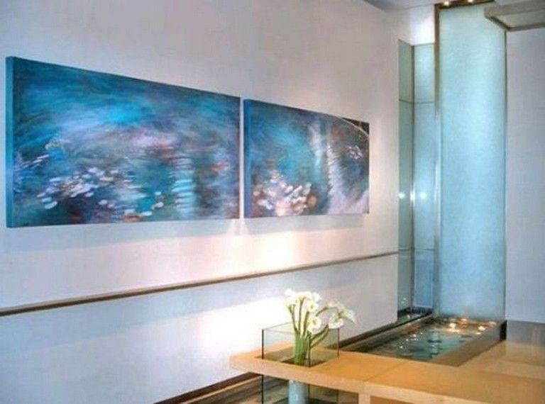 inspiring indoor wall waterfall designs ideas for your house housedesign also rh pinterest
