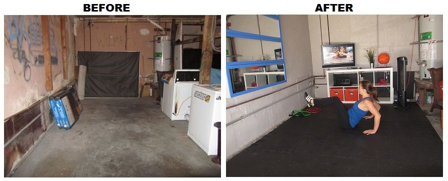Transform your garage into a home gym pure life project