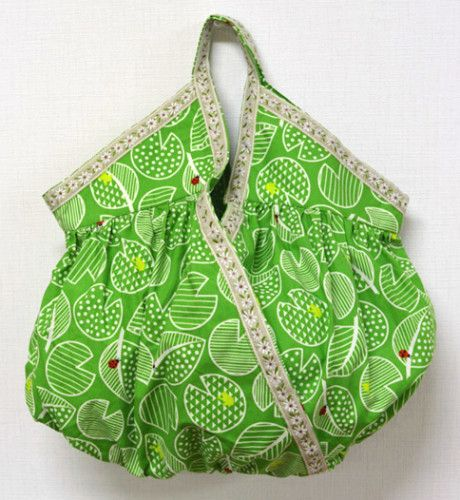 Gathered Cashe Couer Handbag For St Patrick S Day Free Sewing Pdf How To Sew Velvet Bag And Patterns