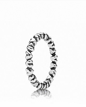 9b6c3d907 PANDORA Ring - Sterling Silver Heart | Bloomingdale's- perfect thumb ring :)
