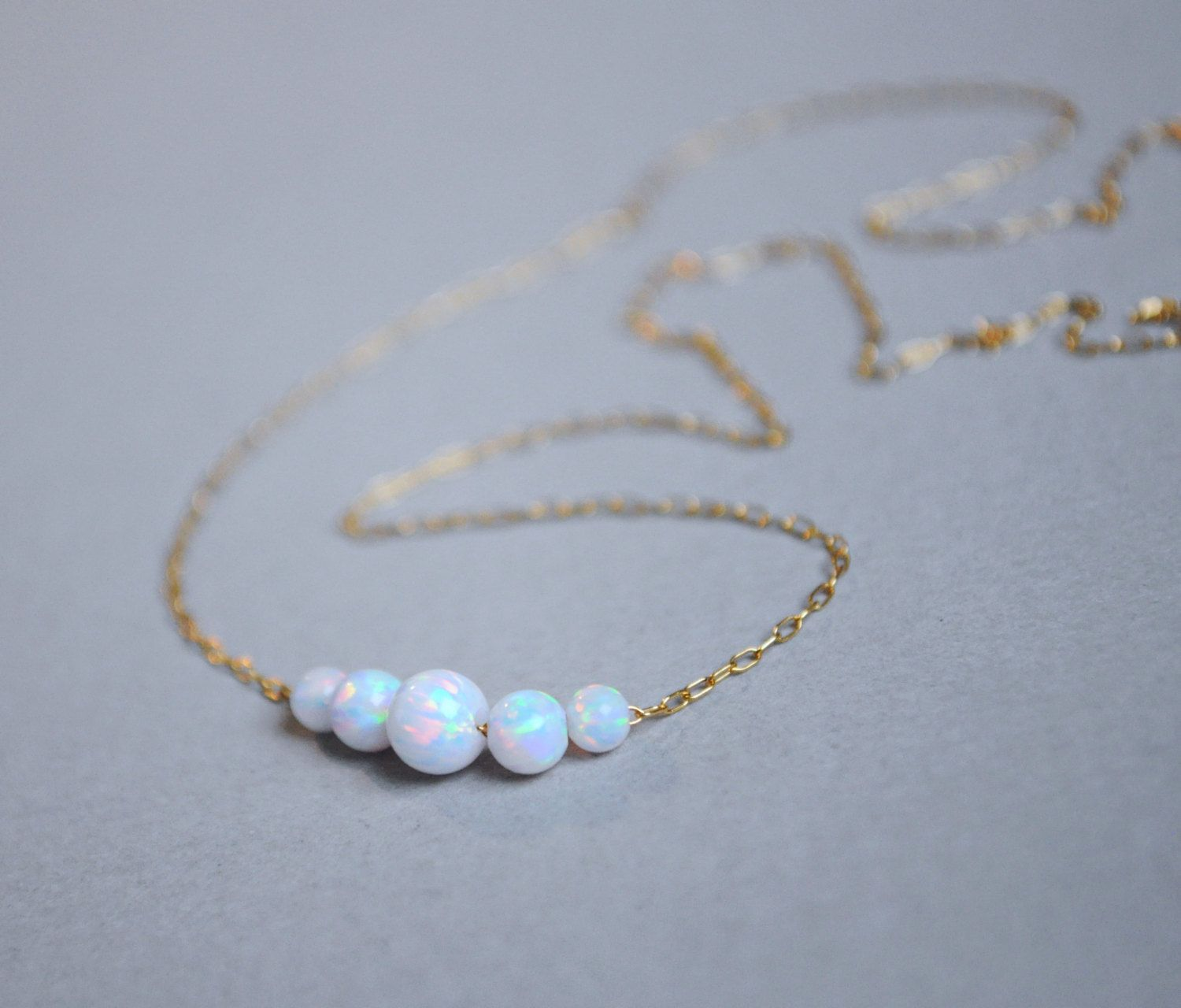 necklace belle qp drop in earrings opal gold and diamond white