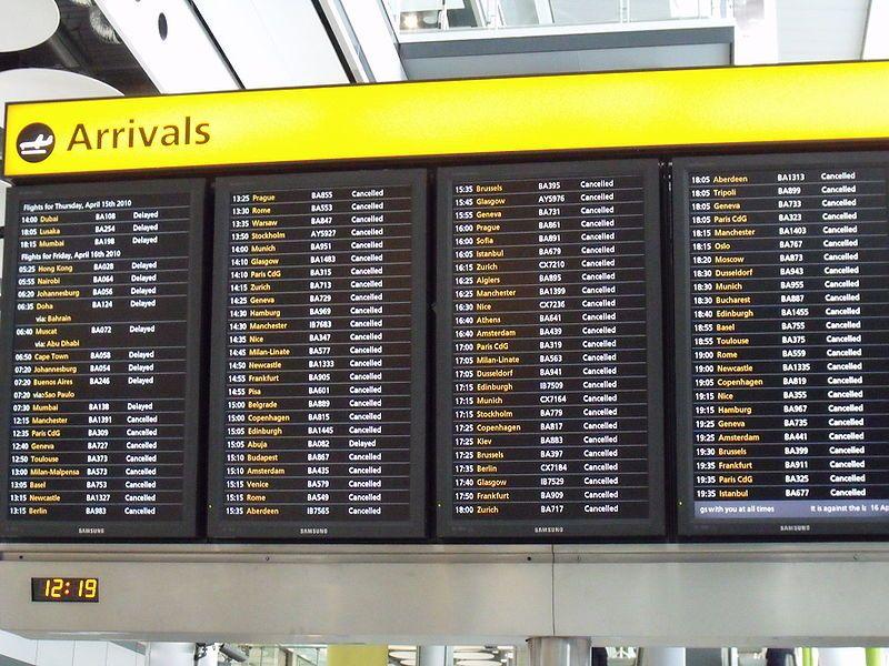 Delays With Images Flight Status Transit Signage Airport