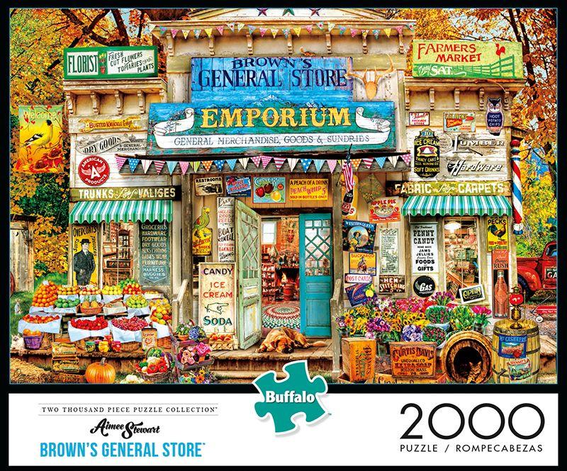 Aimee Stewart Brown's General Store 2000 Piece Jigsaw