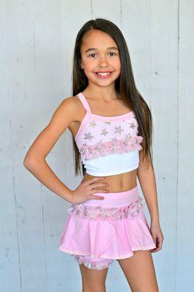 0c31940206d4 Silver Star Flirt Skirt Crop Top Set – Lexi-Luu Designs Inc. Online Store  #dancewear