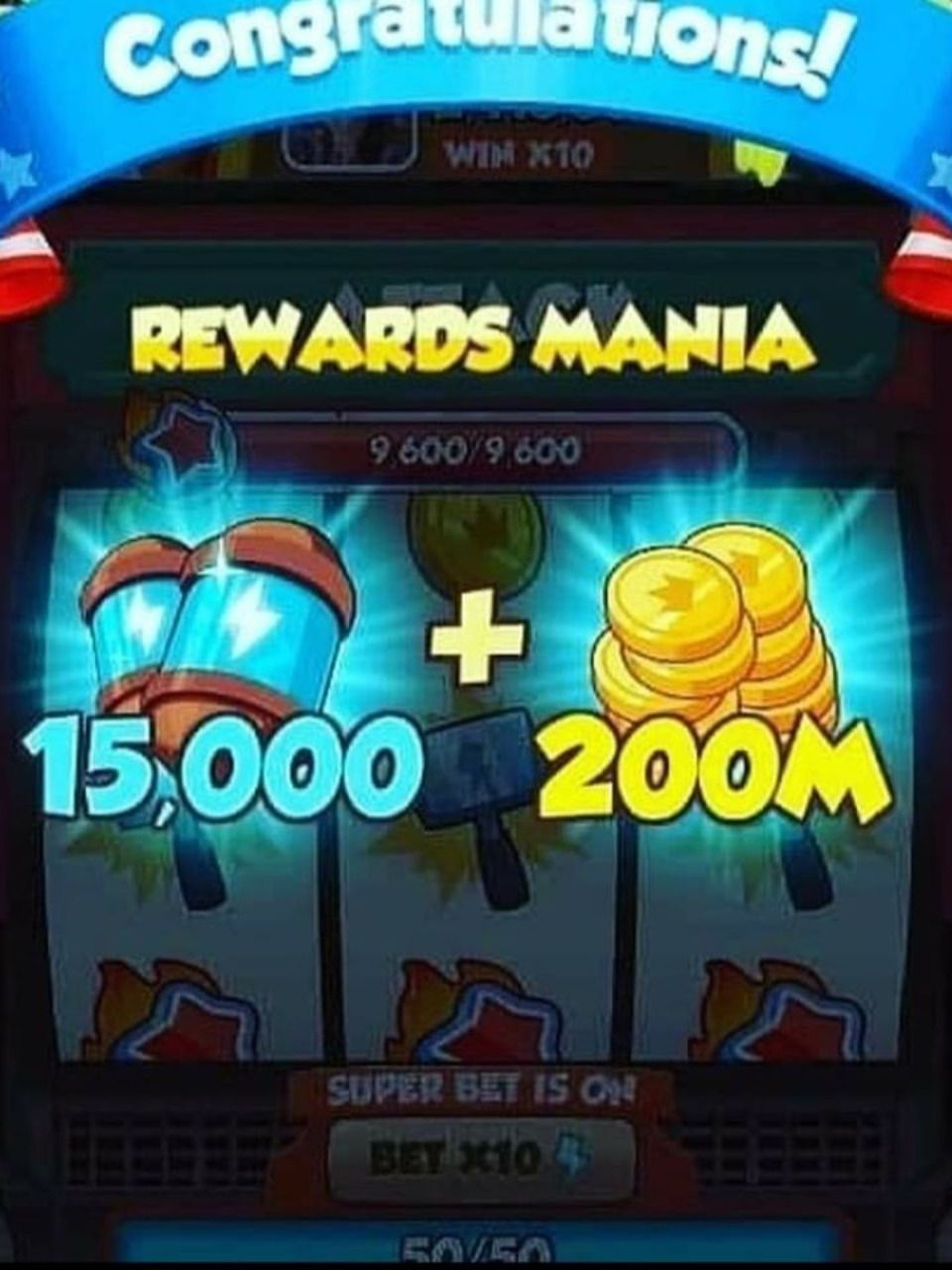 Coin master free spins and coins collect daily coin