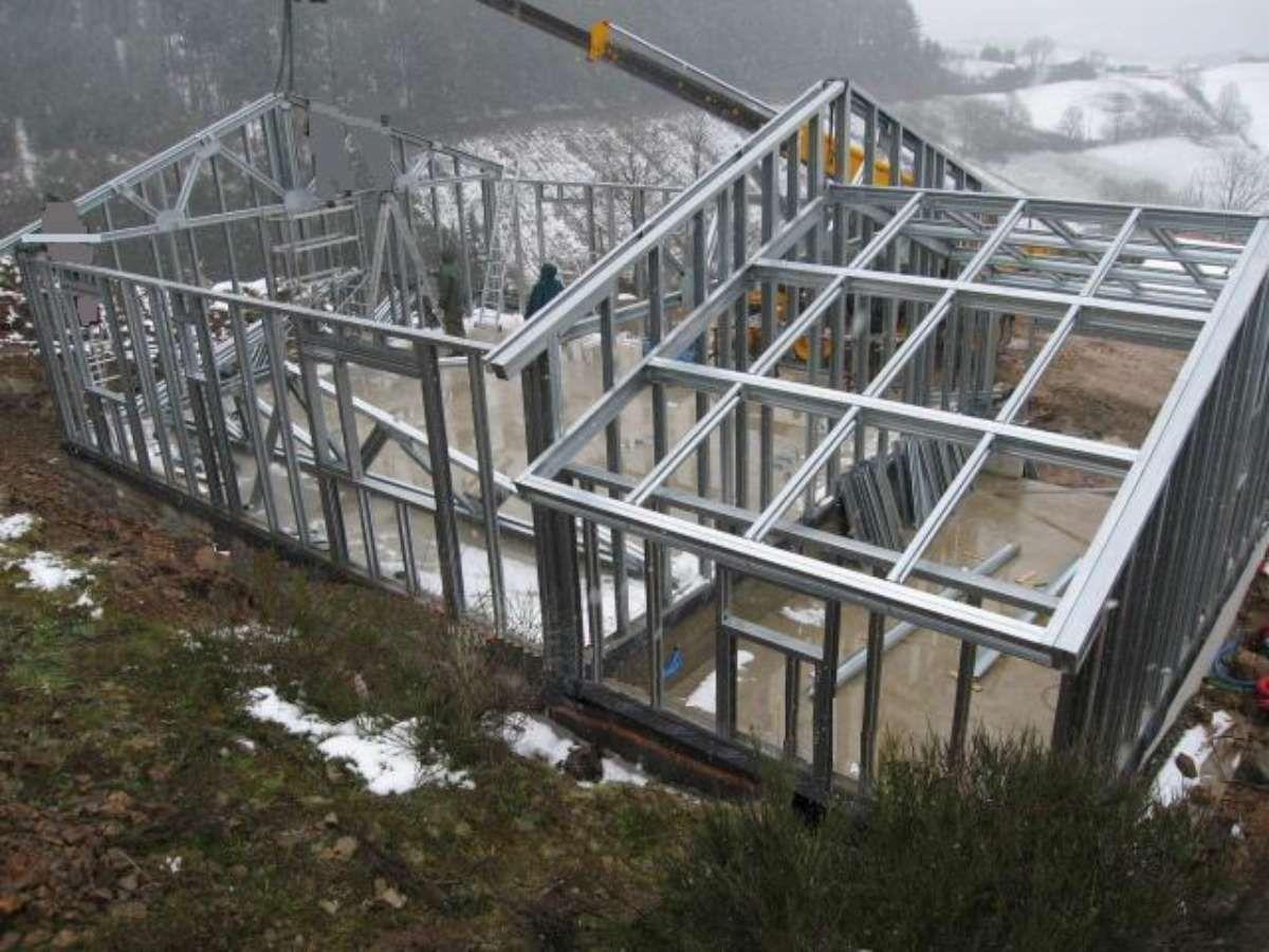 Construction De Maisons à Ossature Métallique | HCI Constructions