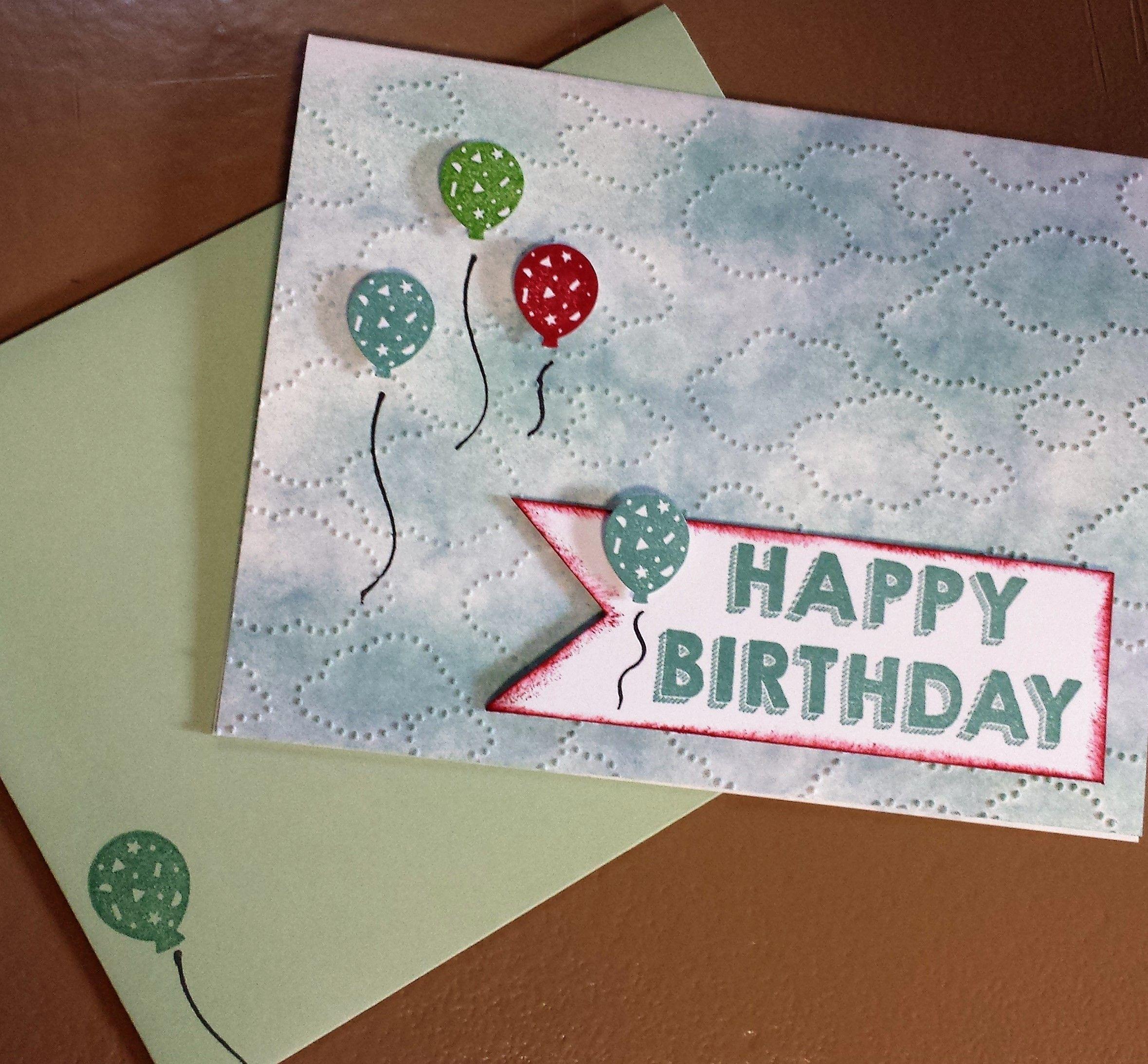 Unisex birthday card