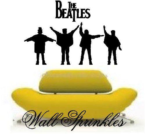 The Beatles Vinyl wall art decal Stcker 14\