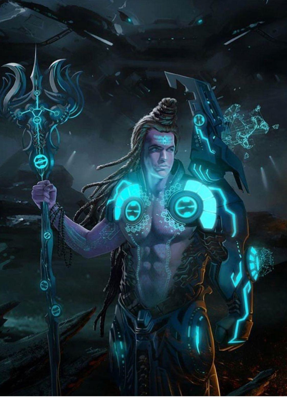 Har Har Mahadev So Futuristic Lord Shiva Lord Shiva Hd