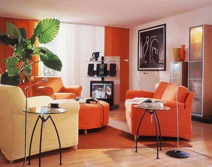 Colores para decorar cocinas peque as buscar con google for Decoracion hogar naranja