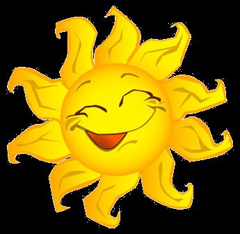 Pin By Teresa Moyer On Everything Yellow Sun Clip Art Clip Art Happy Sun