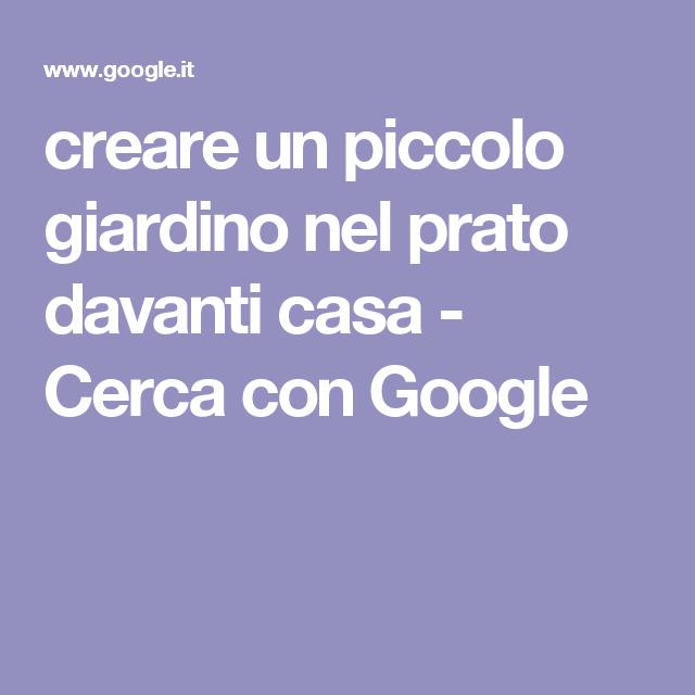 creare un piccolo giardino nel prato davanti casa - Cerca con Google