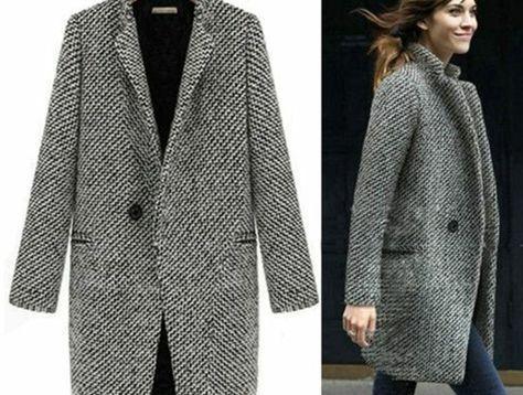 Les Choisir Long Parmi Style Le Photos Manteau Femme Plus Élégant OI0ypZrq0w