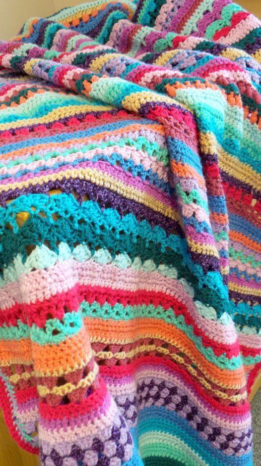 Resultado de imagen para mantas crochet | Tejido Especial ...