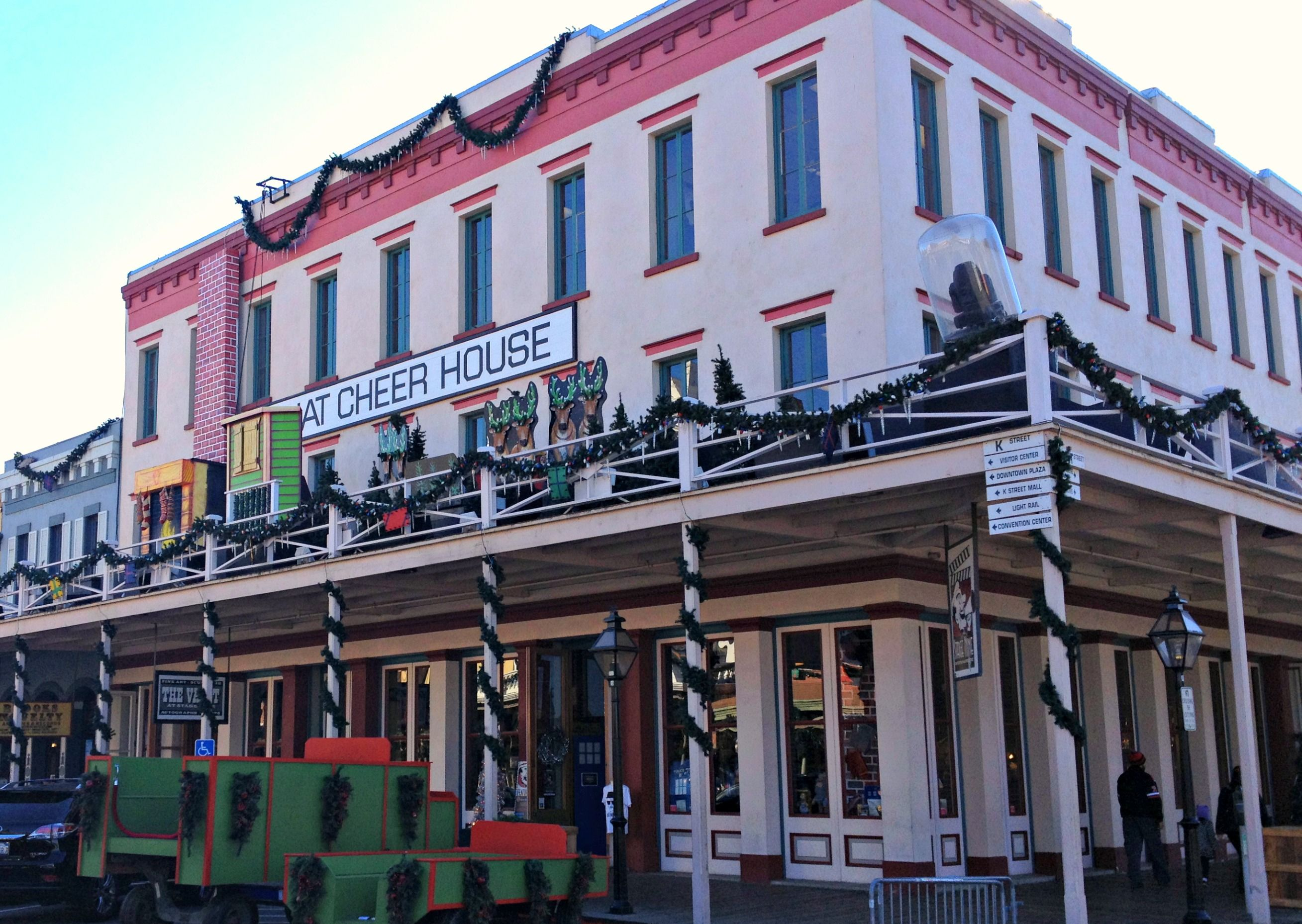 What Cheer House at Christmas in Old Sacramento. | Old Sacramento ...