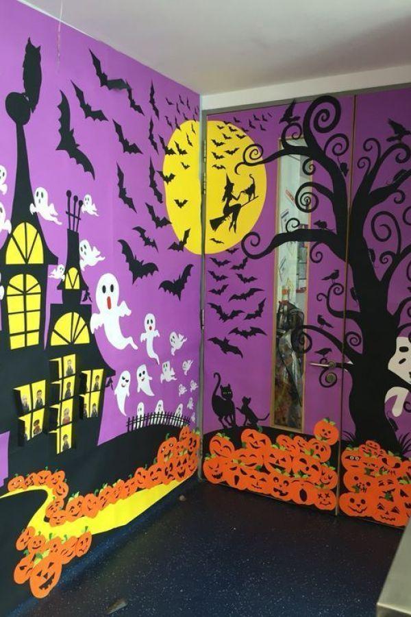 Awesome Halloween Door Decorations 15 #halloweendoordecor
