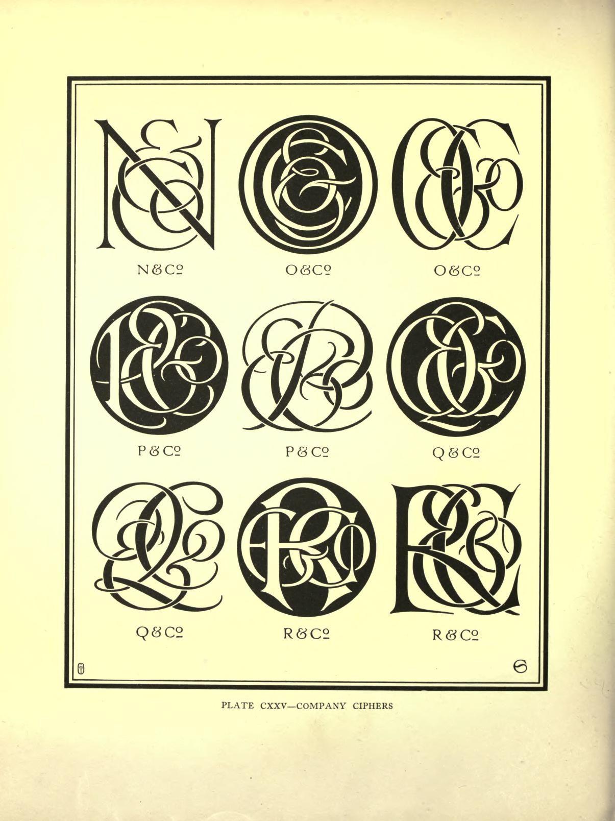 Monograms ciphers monograms pinterest monograms caligraphy types of font styles monograms ciphers altavistaventures Gallery