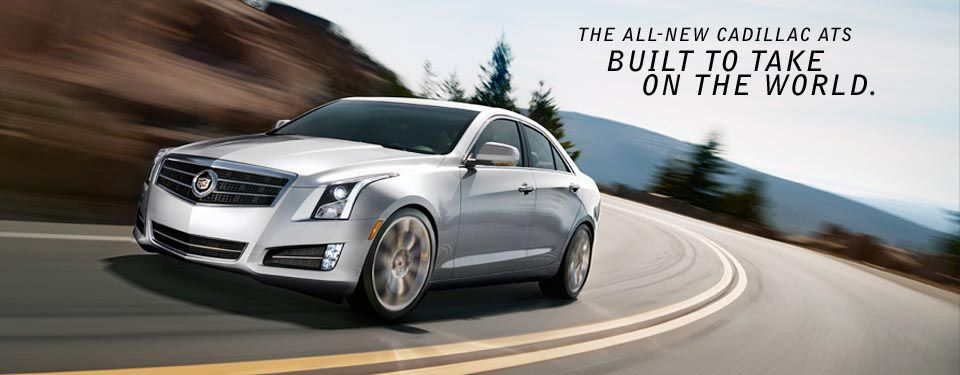 Compact Luxury Sport Sedan | 2013 Cadillac ATS | Stuff for the ...
