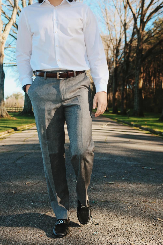 Fine Men S Dress Pants Tailored Trousers Khakis Shorts Berle Mens Dress Pants Men Dress Tailored Trousers [ 1500 x 1000 Pixel ]