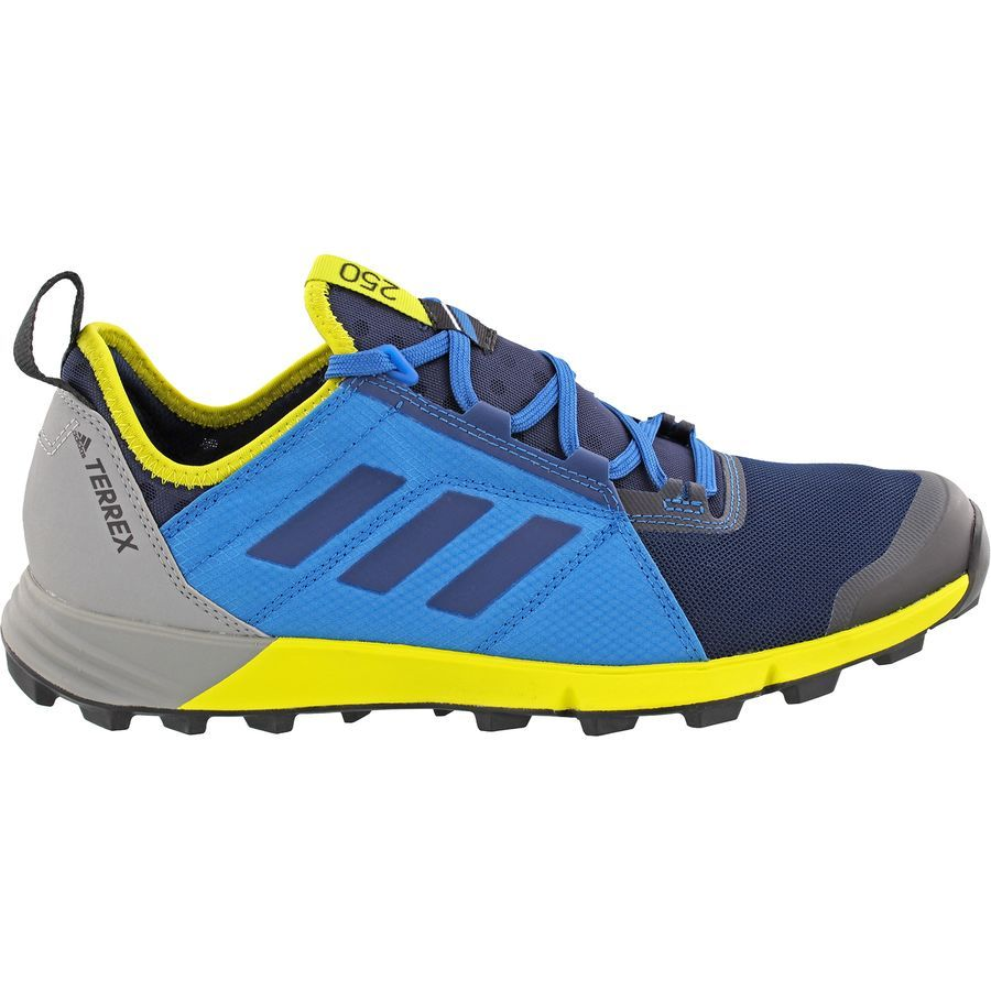 adidas Mens Terrex Agravic Trail Running Shoes Trainers Sneakers Navy Blue