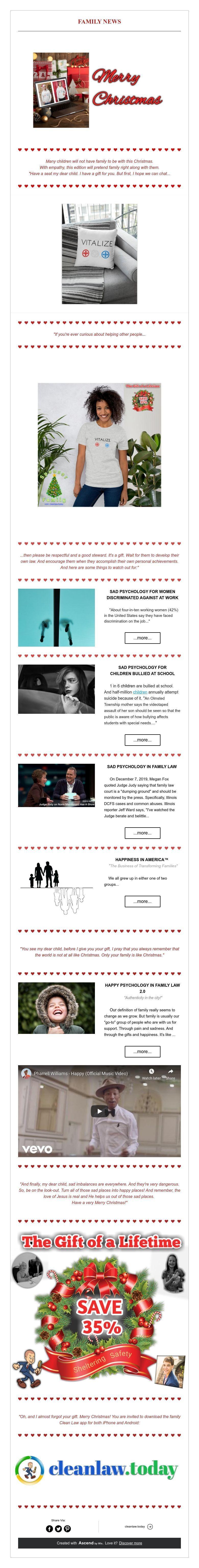 FAMILY NEWS Family news, Social enterprise, Family