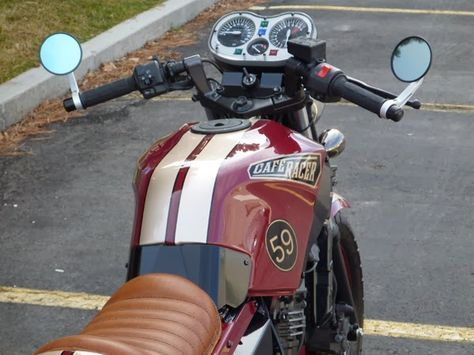 kawasaki 250 cafe racer | biker excalibur II: Kawasaki Ninja 250 Café Racer by Blue Collar ...