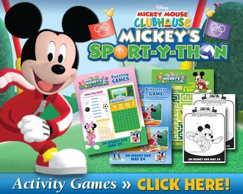 download mickeys sport y thon activities - Mickey Mouse Online Games For Toddlers