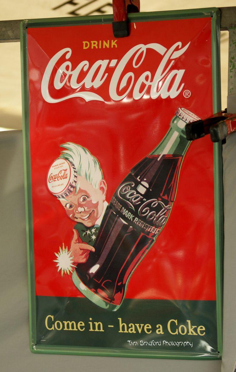 Coca cola vintage coke ad