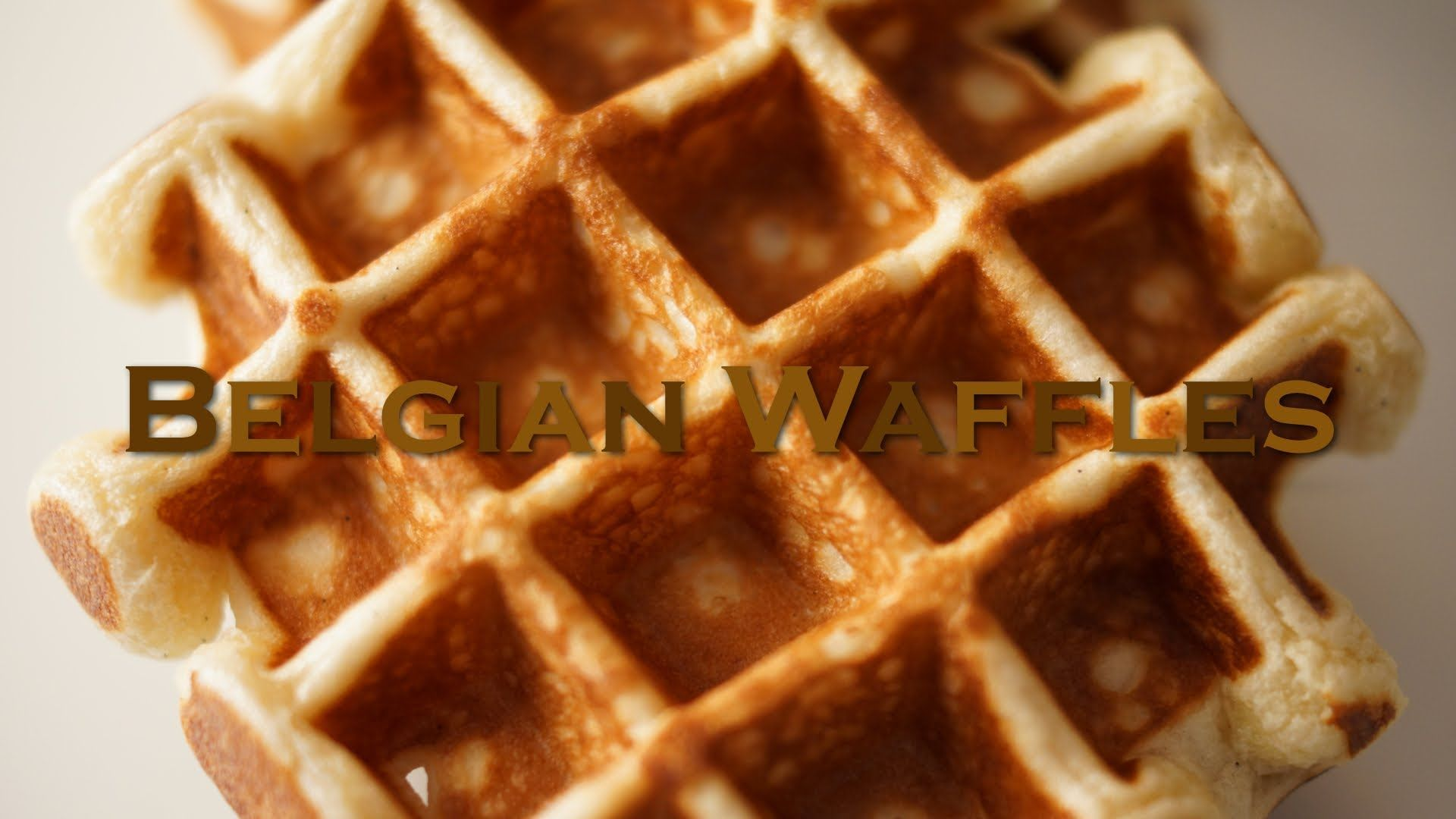 Belgian waffles recipe bruno albouze the real deal playlist food belgian waffles recipe forumfinder Images