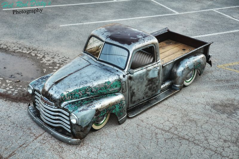 Gorgeous Bare Metal 50 Pickup Up For Grabs On Ebay Rod Authority Classic Chevy Trucks Vintage Trucks Chevy Trucks
