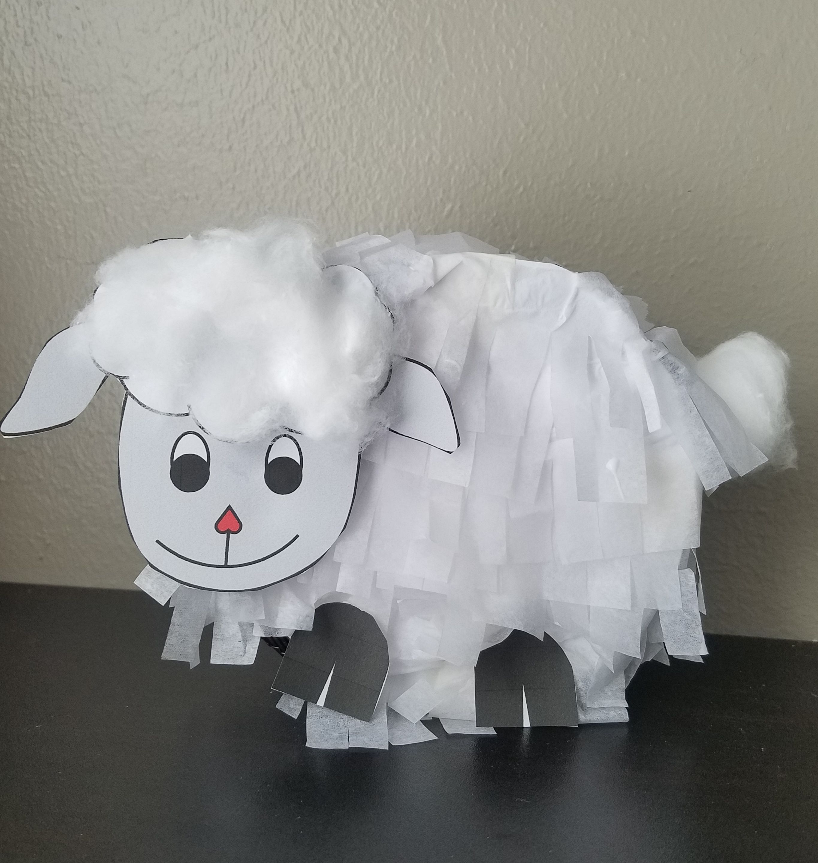 Free Mini Lamb Pinata Downloadable Template for Eid Al Udha #eid ...