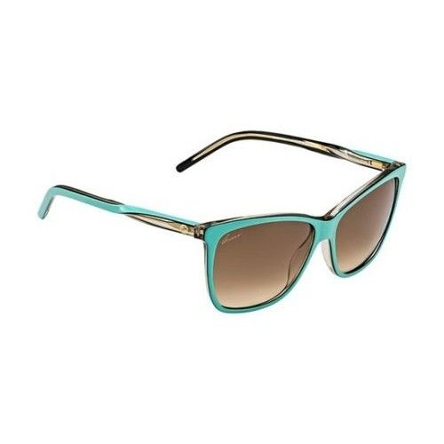 af0289fc69b Gucci Women s Plastic Frame Nylon Brown Lens Sunglasses 57mm GG3640 S OWV  57JD. http
